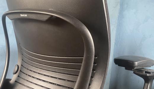 椅子がやって来た スチールケース チェア Leap V2とやらない理由を見つける癖